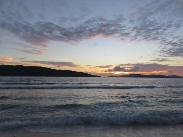 GRAND' ANSE BEACH AT SUNSET
