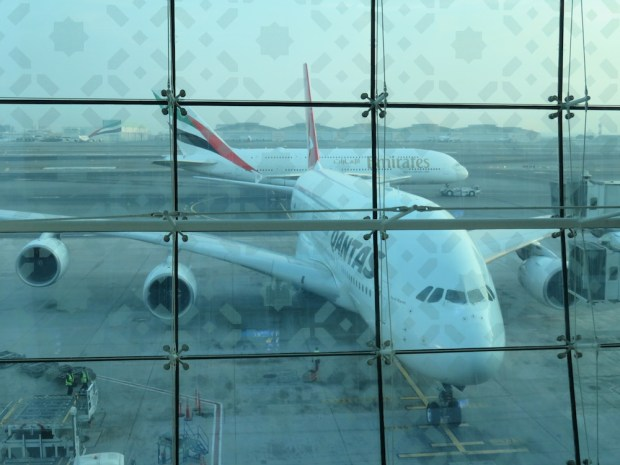 QANTAS A380 (AT DUBAI)