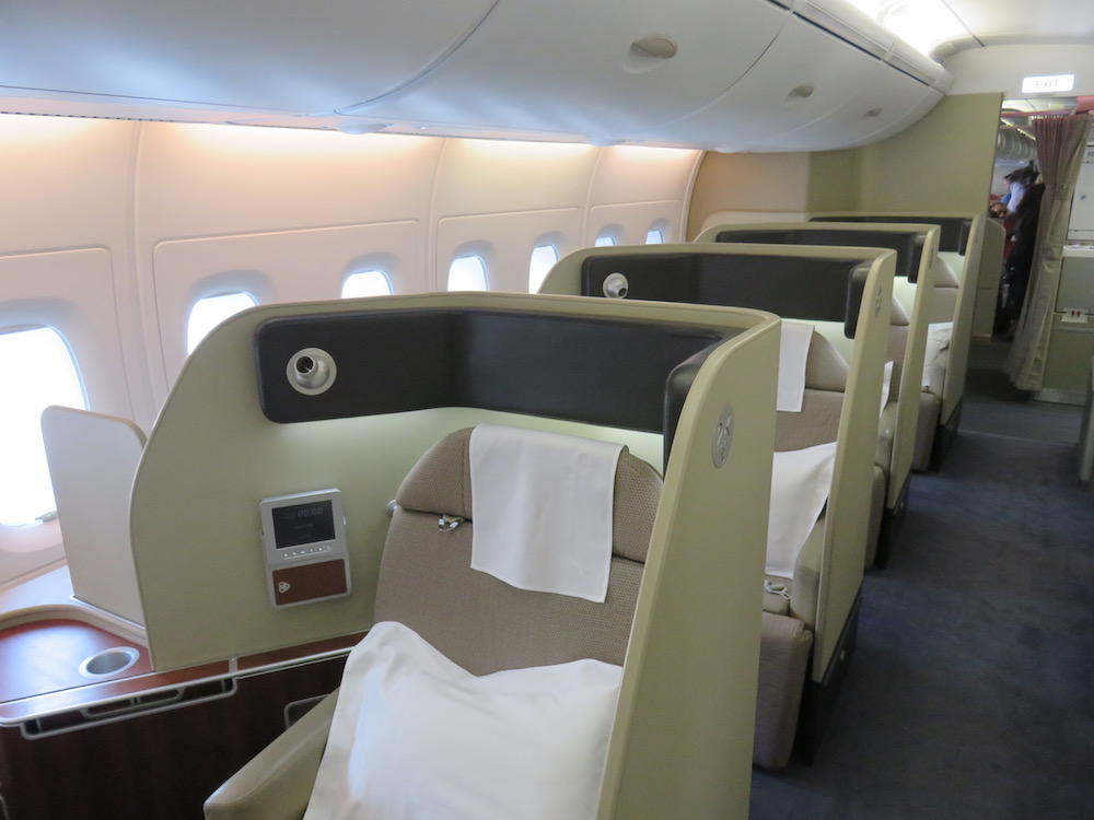 Qantas A380 First Class From Dubai To London The Luxury Travel