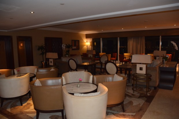 GRAND CLUB LOUNGE AT NIGHT