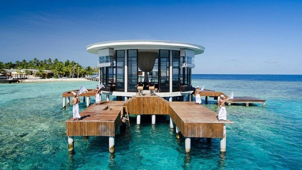 ENJOYING THE GOOD LIFE IN THE MALDIVES