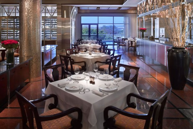 DINING: MANHATTAN GRILL STEAKHOUSE