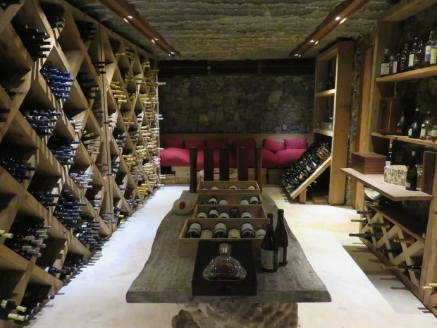 THE PIAZZA: WINE CELLAR