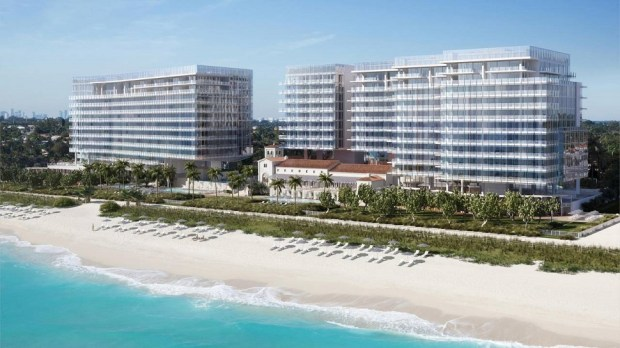 FOUR SEASONS HOTEL AT THE SURF CLUB, SURFSIDE, FLORIDA, USA