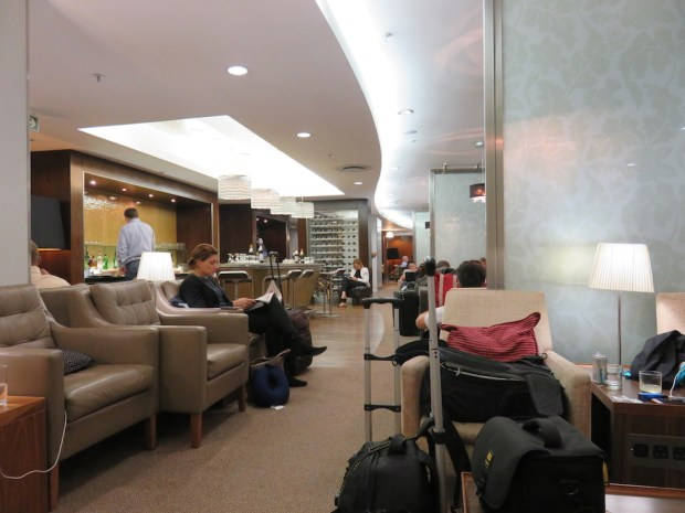 BA FIRST CLASS LOUNGE AT OR TAMBO AIRPORT