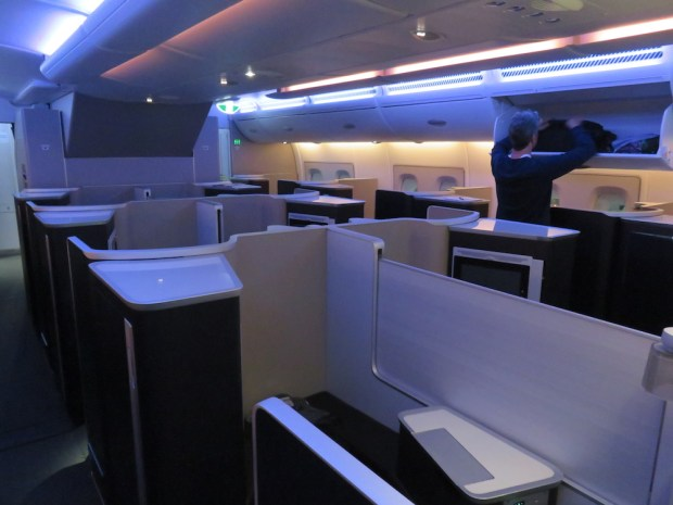 FIRST CLASS CABIN (MOOD LIGHTING)