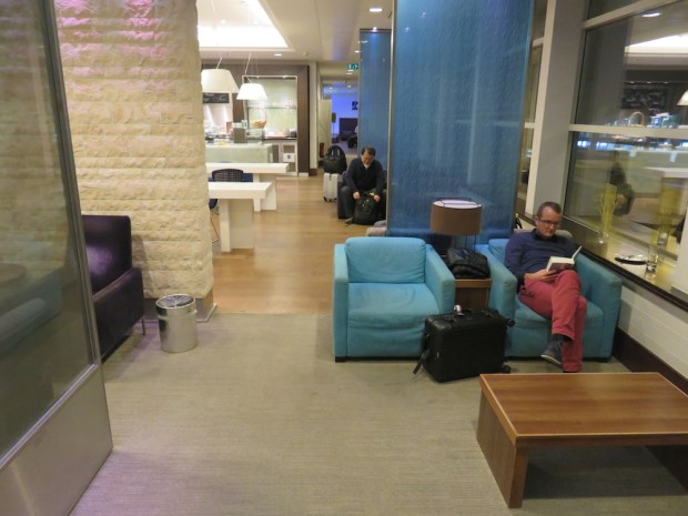 BRITISH AIRWAYS LOUNGE AT BRUSSELS