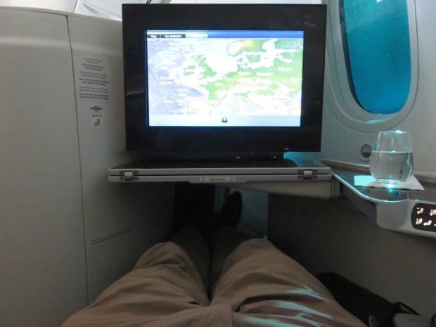 BUSINESS CLASS SEAT 4K (FLAT-BED)