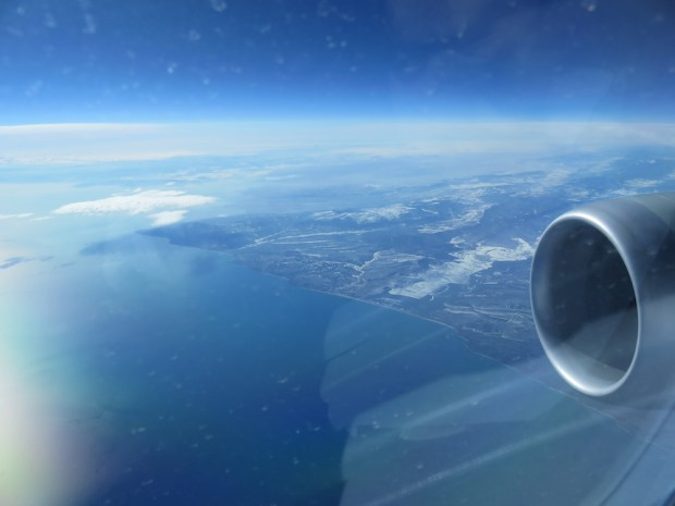 FLYING OVER TEH BLACK SEA