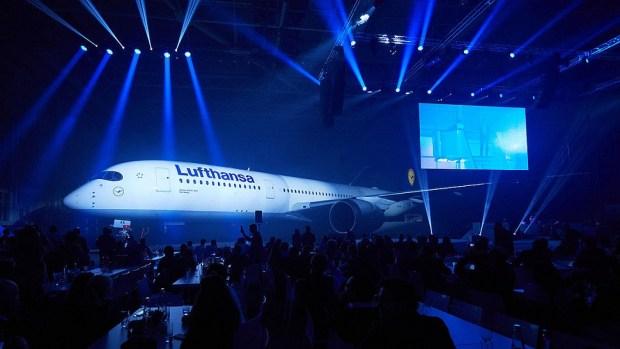 LUFTHANSA'S NEW A350-900