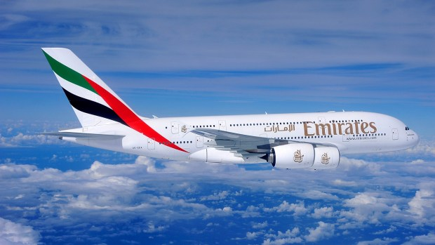 EMIRATES A380 - DUBAI TO AUCKLAND