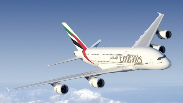 EMIRATES A380 - DUBAI TO HOUSTON
