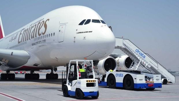 EMIRATES A380 - DUBAI TO LOS ANGELES