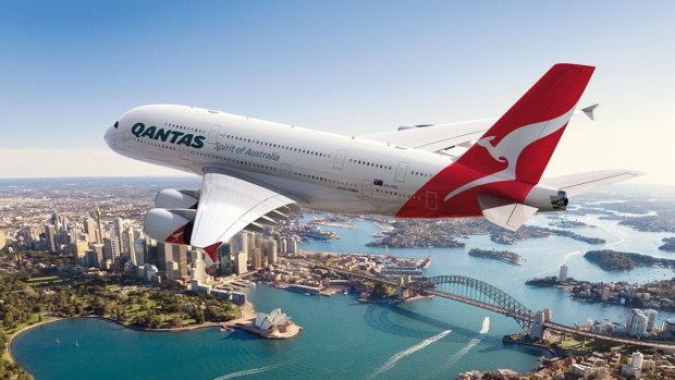 QANTAS A380 - SYDNEY TO DALLAS