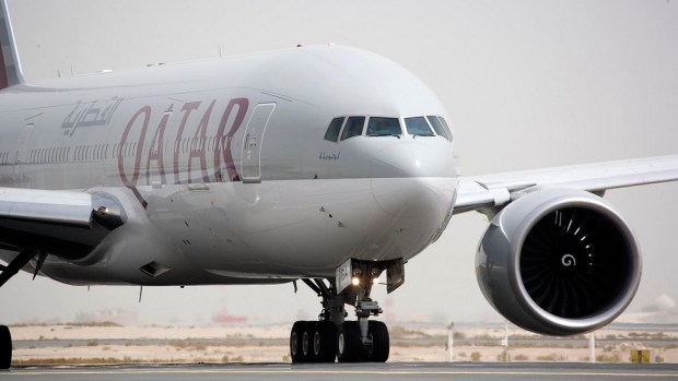 QATAR AIRWAYS B777 - DOHA TO AUCKLAND