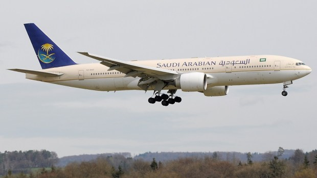 SAUDI AIRLINES B777 - JEDDAH TO LOS ANGELES