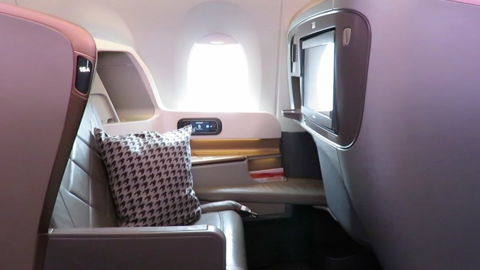 Review: Singapore Airlines A350 Business Class Düsseldorf to