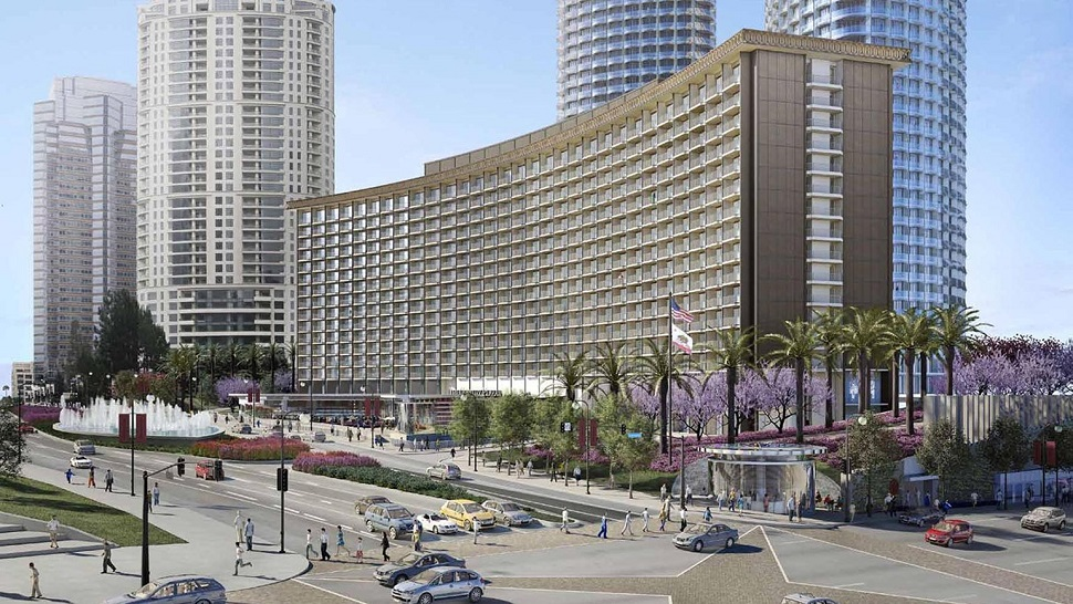 Century Plaza Hotel Parking