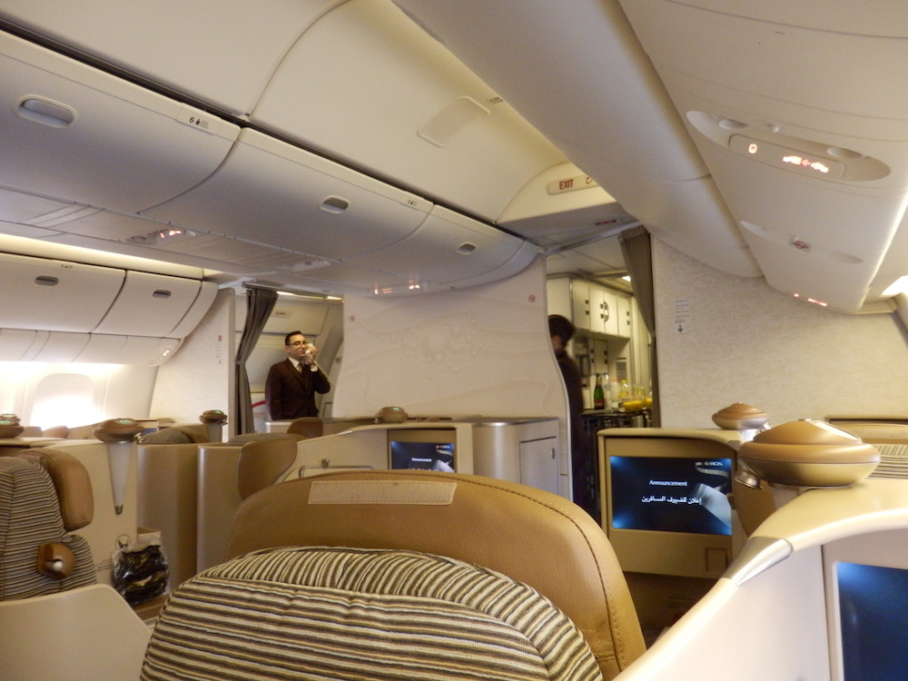 Trip report: Etihad Airways B777 Business Class Abu Dhabi to