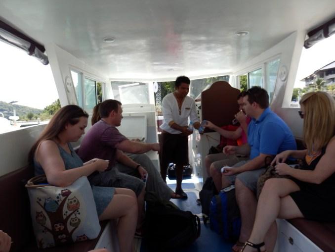 BOAT TRANSFER TO NAKA ISLAND