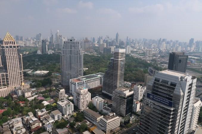 BANYAN TREE BANGKOK: SAFFRON SKY GARDEN (VIEW)