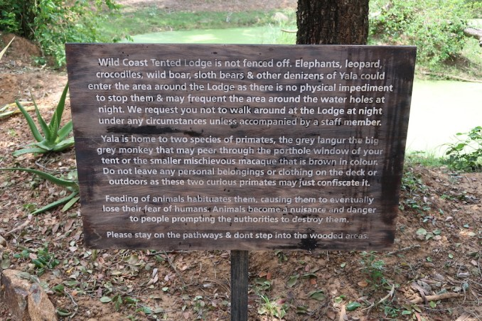 WILD COAST TENTED LODGE: RECEPTION PAVILION
