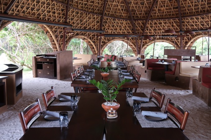 WILD COAST TENTED LODGE: RESTAURANT