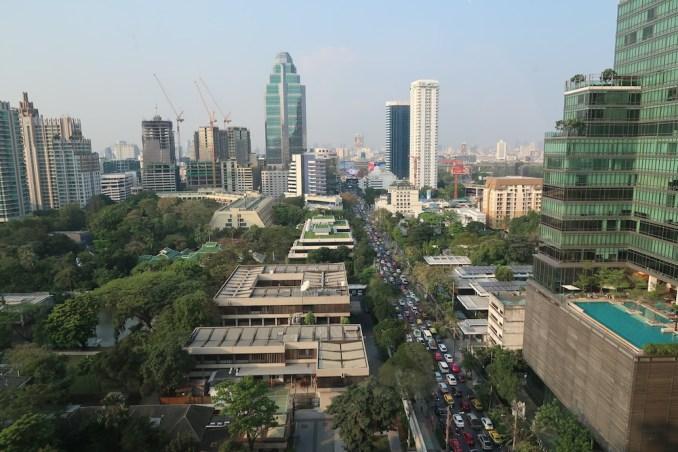PARK HYATT BANGKOK: VIEWS FROM MAIN LOBBY