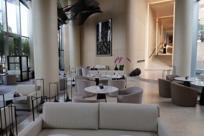 PARK HYATT BANGKOK: LIVING ROOM