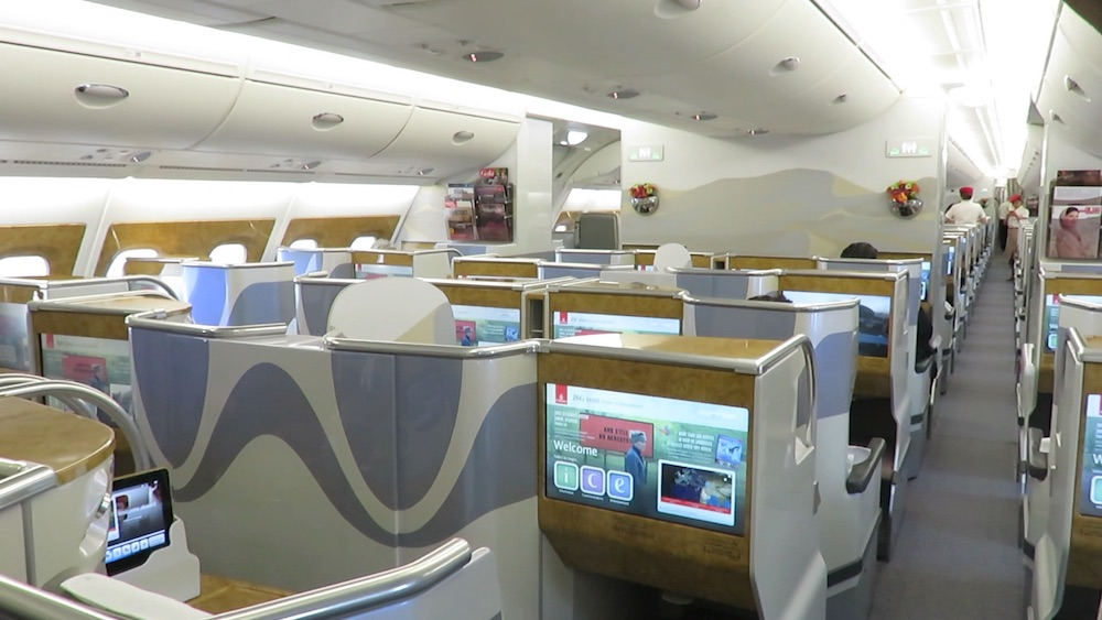 Trip Report Emirates A380 Business Class Dusseldorf Dubai