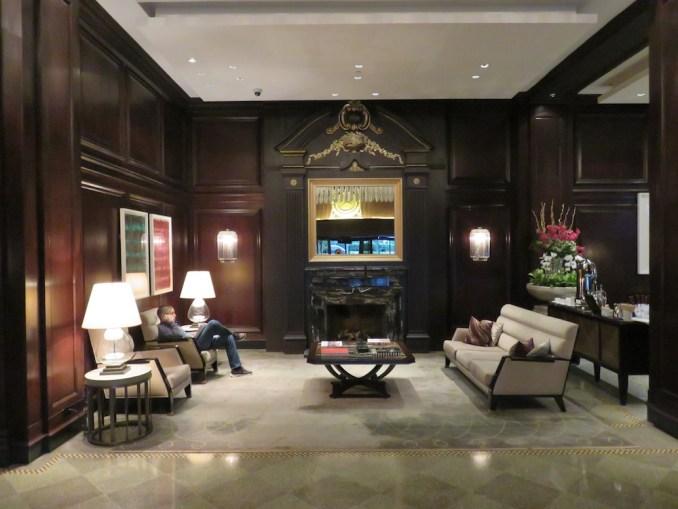 ROSEWOOD HOTEL GEORGIA: LOBBY