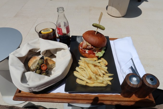 AMANZOE BEACH CLUB: LUNCH