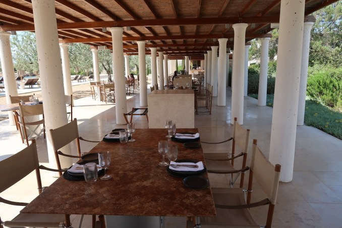 AMANZOE BEACH CLUB: RESTAURANT