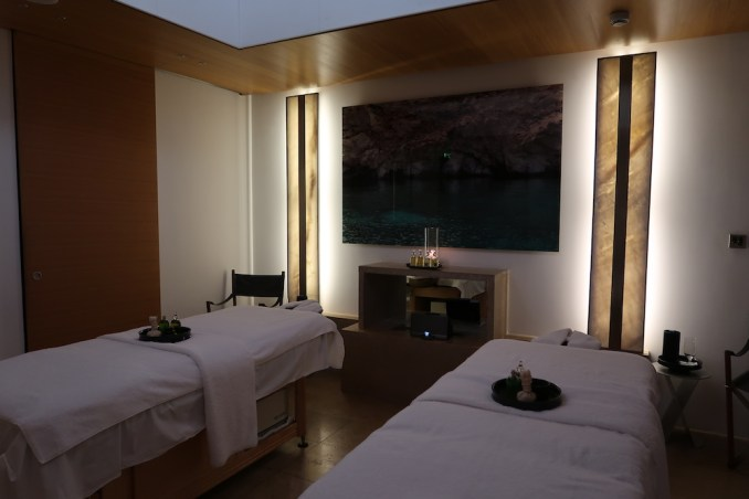 AMANZOE SPA: TREATMENT ROOM