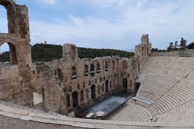 ACROPOLIS: ODEON OF HERODES ATTICUS