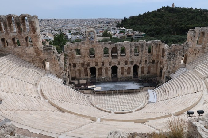 ACROPOLIS: ODEON OF HERODES ATTICUS