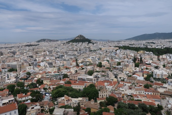 ACROPOLIS: VIEW OVER CITY