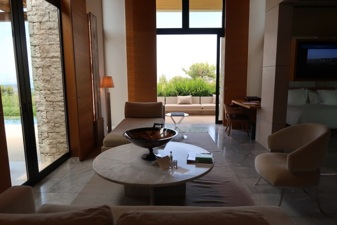 AMANZOE POOL PAVILION: LIVING AREA
