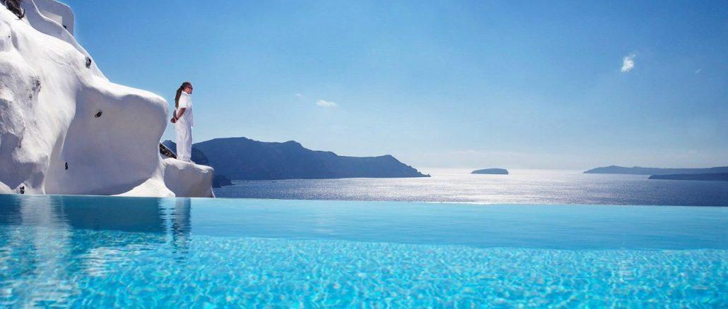 best hotel in santorini, greece