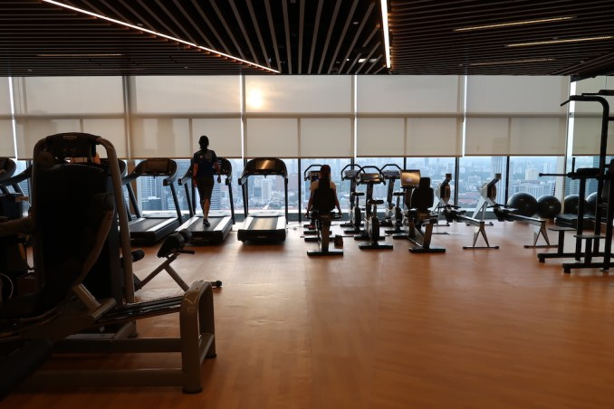 MARINA BAY SANDS: GYM