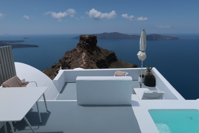 GRACE SANTORINI: SUPERIOR SUITE - TERRACE