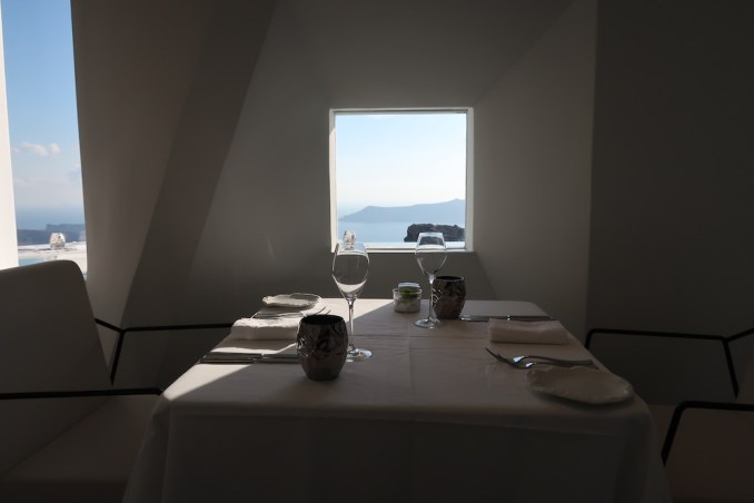 GRACE SANTORINI: SANTORO DINING ROOM