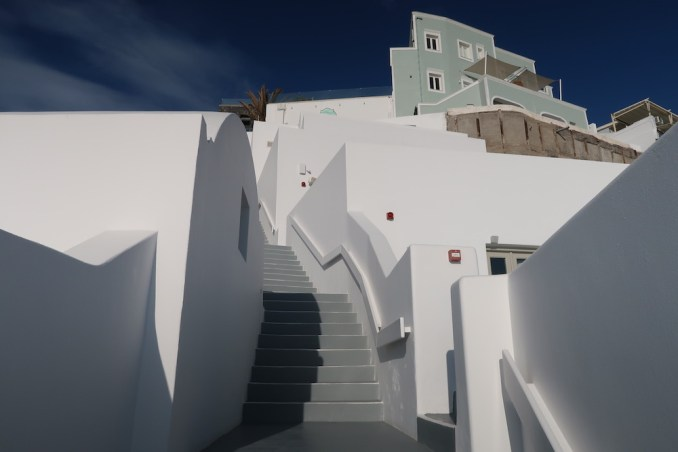 GRACE SANTORINI: STEPS TO LOWER LEVELS