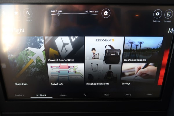 Review: Singapore Airlines Boeing 787 Business Class Bali to Singapore