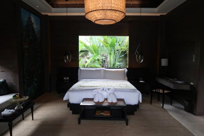 MANDAPA: ONE BEDROOM POOL VILLA - BEDROOM
