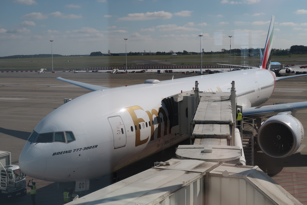 Trip report: Emirates Boeing 777 new Business Class Brussels to Dubai
