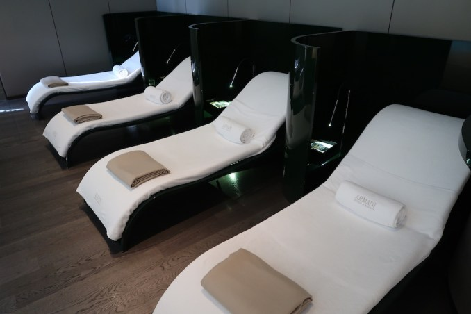 ARMANI HOTEL DUBAI: SPA - RELAXATION LOUNGE