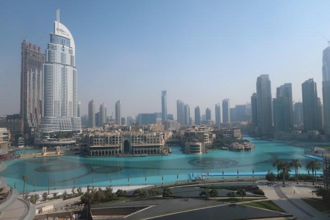 ARMANI HOTEL DUBAI: FOUNTAIN SUITE - VIEW