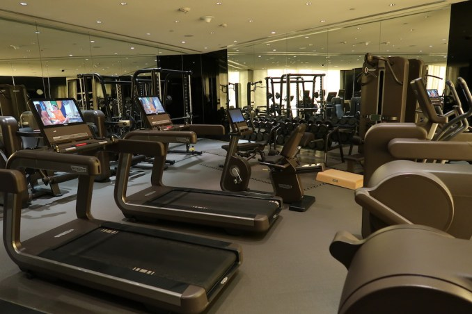 ARMANI HOTEL DUBAI: SPA - GYM
