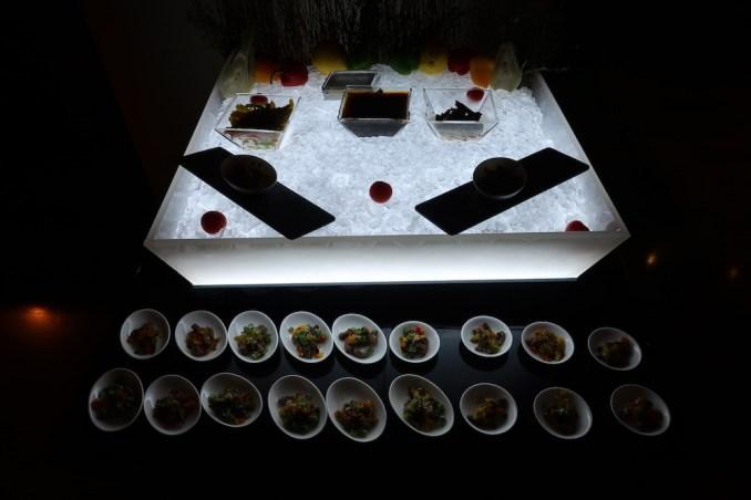 ARMANI HOTEL DUBAI: DINNER BUFFET